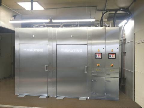 Producción de barritas cárnicas secadas en nuestros hornos