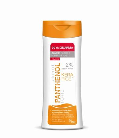 Altermed PANTHENOL forte 2% šampón na suché a barvené vlasy