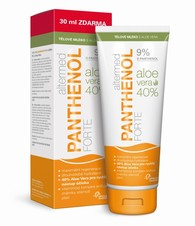 Altermed PANTHENOL forte 9% ALOE VERA telové mlieko