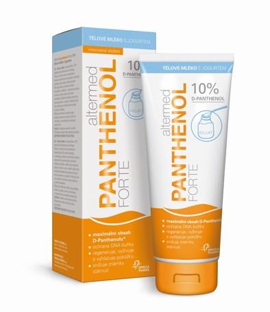 Altermed PANTHENOL forte 10% tělové mléko s jogurtem