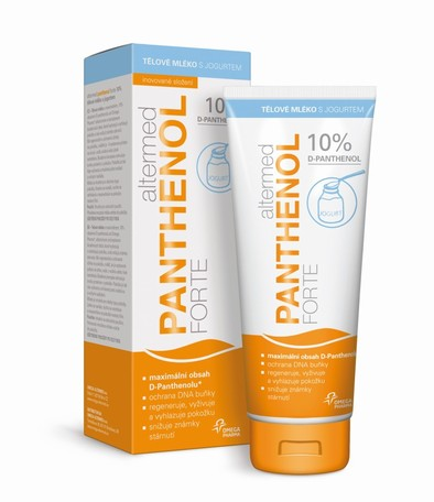 Altermed PANTHENOL forte 10% telové mlieko s jogurtom