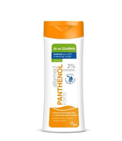 Altermed PANTHENOL forte 2% šampón na mastné vlasy a lupy