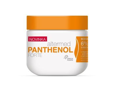 Altermed PANTHENOL forte 6% telové maslo