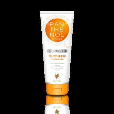 PANTHENOL omega Tělové mléko s rakytníkem 9%