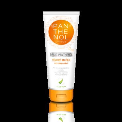 PANTHENOL omega Tělové mléko s aloe vera 9%