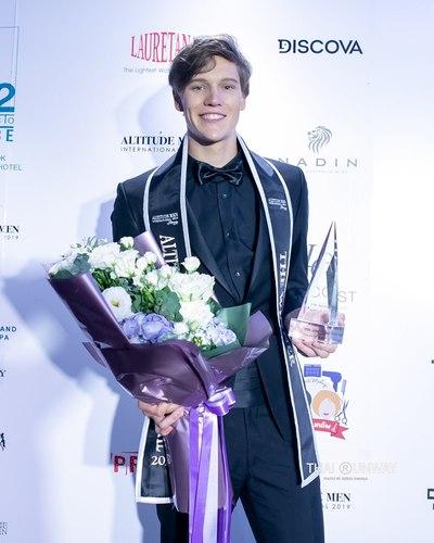 Prestižní titul Altitude Men International 2019 získal pro Českou republiku vítěz soutěže Miss & Mr. Look Bella, Artur Ország