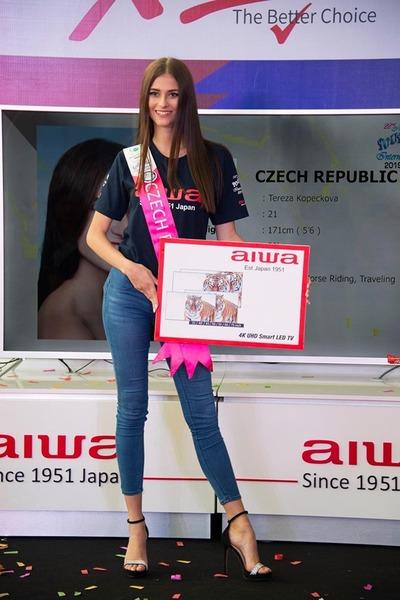 Tereza Kopečková v Malajsii na MISS TOURISM INTERNATIONAL