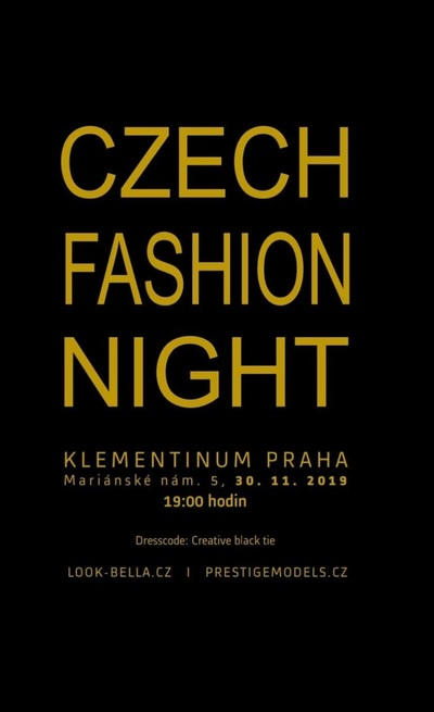 Czech Fashion Night JIŽ ZÍTRA!