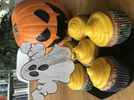 Cupcakes s dýňovým krémem