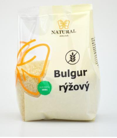 bulgur rýžový NATURAL bez lepku 400 g