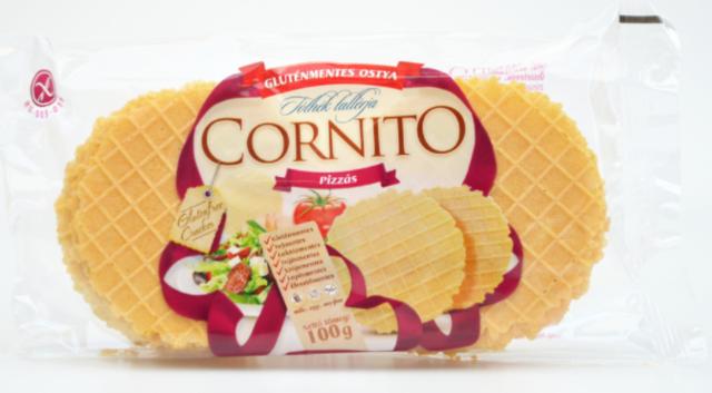 Oplatky CORNITO slané s příchutí pizzy 100g