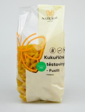 Těstoviny kukuřičné FUSILLI 300 g