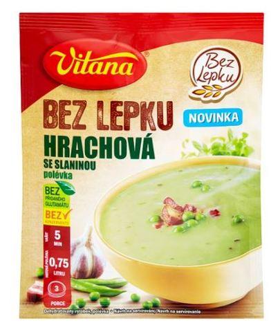 polévka HRACHOVÁ se slaninou Vitana 74 g
