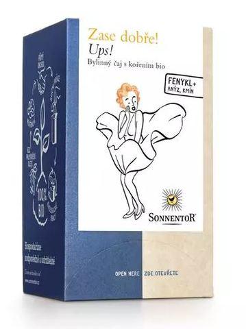Čaj UPS! bio porcovaný 27 g