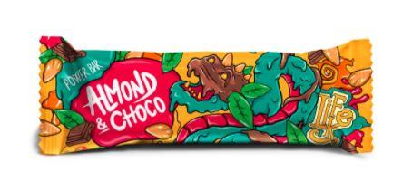 tyčinka Power Bar Almond Chocolate LIFELIKE 50 g