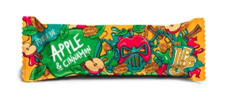 tyčinka Power Bar Apple Cinnamon LIFELIKE 50 g - DMT 9/2021