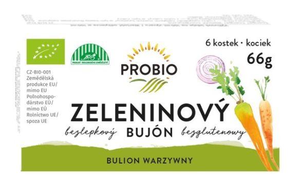 bujón zeleninový Pro-bio kostky 6* 0,5 l