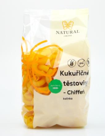 Těstoviny kukuřičné KOLÍNKA - CHIFFERI 300 g