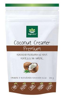 Kokosová pochoutka do kávy - Coconut Creamer -  TOPNATUR 150 g