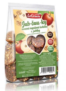 Sušenky ovocné nepečené Jab-čau-ky 150 g