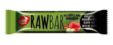 tyčinka CELITA RAWBAR jablečná se skořicí 40 g