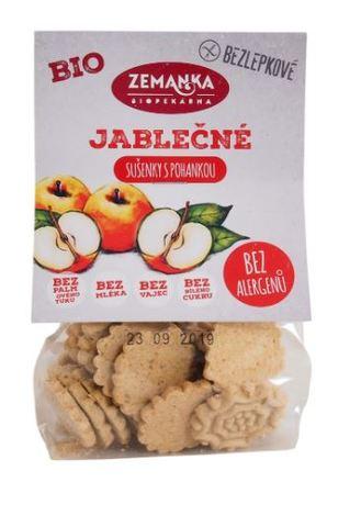 Sušenky bezlepkové jablečno-pohankové Bio 100 g