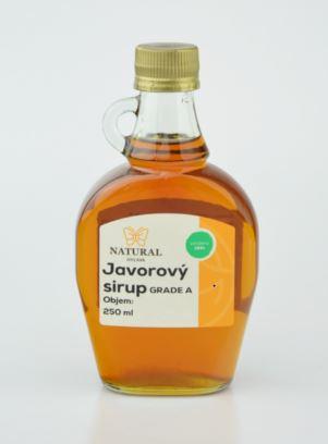 Javorový sirup grade A - Natural 250 ml