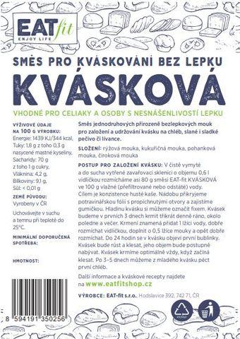 EKO BALENÍ bezlepková směs KVÁSKOVÁ 3000 g