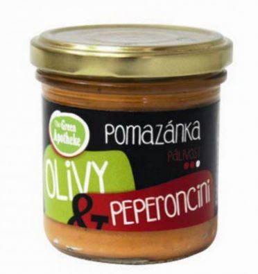 pomazánka OLIVY a peperoncini 140 g