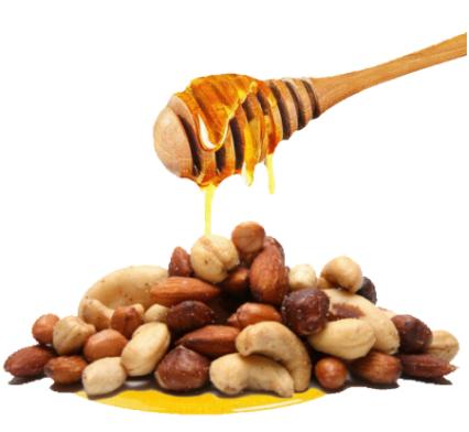 pečené ořechy v medu LIFELIKE 200 g