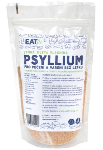 EAT-fit jemně mleté PSYLLIUM 220 g