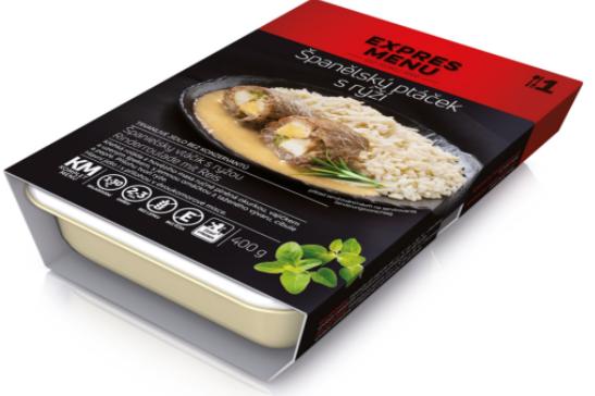 Španělský ptáček s rýží EXPRES MENU 400 g