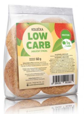 Kolečka low carb Jablečný štrůdl 60 g