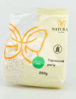 tapiokové perly NATURAL 250 g