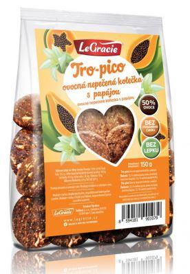 Sušenky ovocné nepečené Tro-pico 150 g - DMT 8/2021