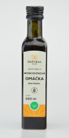 Omáčka worchestrová NATURAL 250 ml