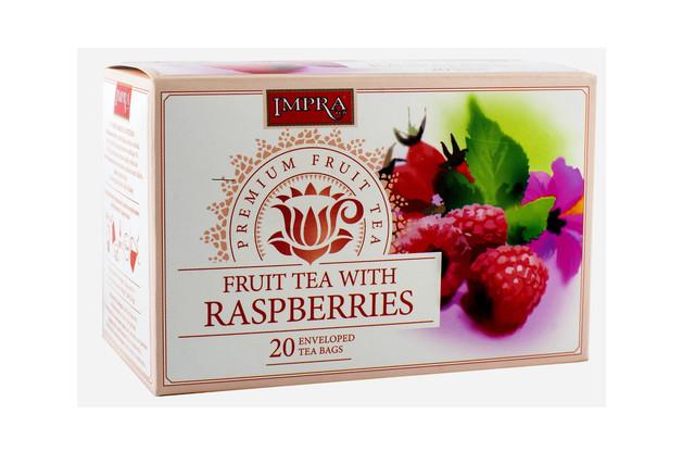 Čaj ovocný s malinou - Impra 20x2,5g