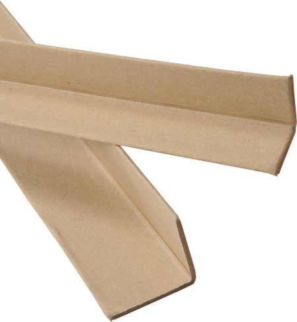 Lisované ochranné hrany z papíru