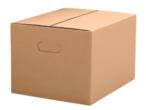 Stěhovací krabice s fixačními prvky